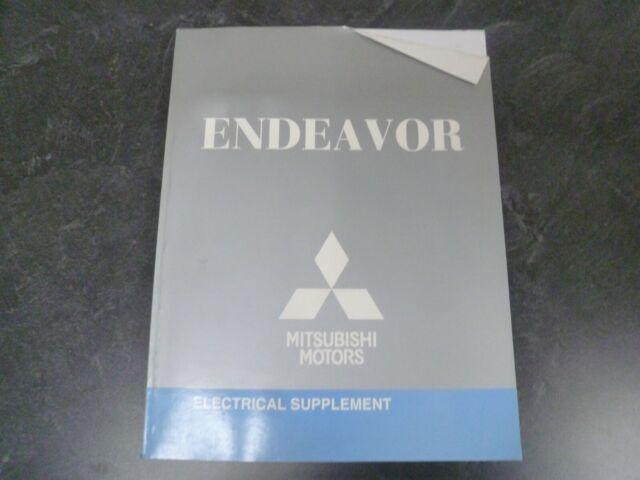 2011 Mitsubishi Endeavor Electrical Wiring Diagrams Manual Ls Se Awd 3 8l V6