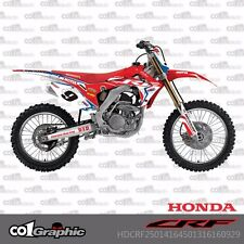 GRAPHICS DECALS STICKERS FULL KIT FOR HONDA CRF250R 2014-2016 CRF450R 2013-2016