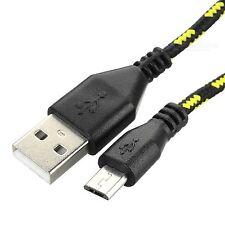 Forte Intrecciato USB Caricabatterie Cavo Di Sincronizzazione Per HTC One a9 ONE m9 ONE m8s m8 ONE MINI