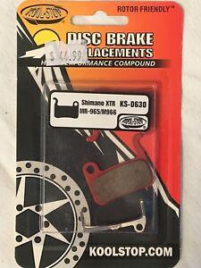 KOOLSTOP KS-D630 SHIMANO M966--M965--M756 DISC BICYCLE BRAKE PADS