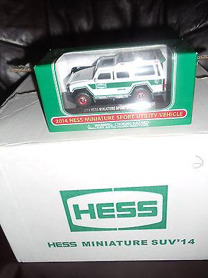 Hess 2014 MINIATURE SUV SPORT UTILITY VEHICLE ADVERTISING Dealer Pin PINBACK HTF