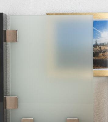 Nach Ma/ß bis 40 x 150 cm Einscheibensicherheitsglas nach DIN 400 x 1500 mm biege- und sto/ßbelastbar. Glasplatten ESG 12mm klar durchsichtig bis 240 x 480 cm Kanten geschliffen und poliert