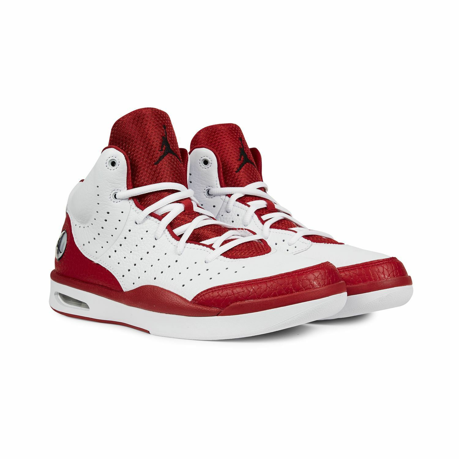 Nike Men's Jordan Flight Tradition NEW AUTHENTIC White Gym Red 819472-102