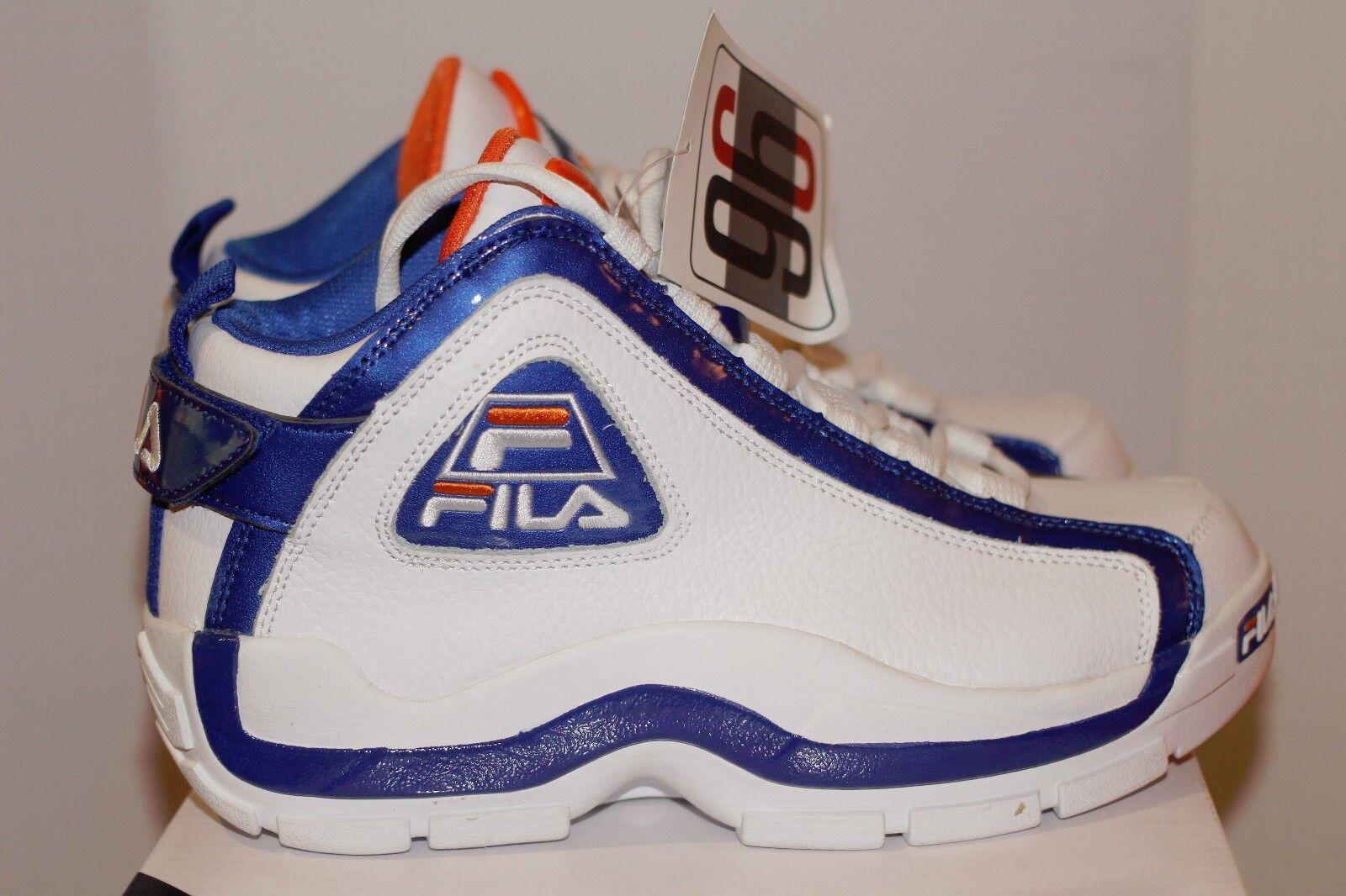 Fila 96 Grant Hill Hill Hill SZ 11 DS NY Knicks Mets Denver Broncos Gators Porzingis cbb00d