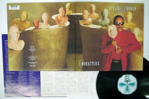 STEVIE WONDER CHARACTERS MOTOWN RMTL-8050 Japan VINYL LP