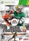 NCAA Football 13 (Microsoft Xbox 360, 2012)