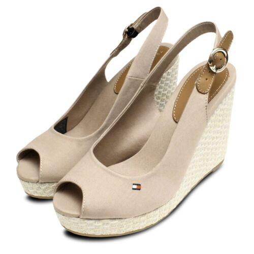 Tommy Hilfiger Elena Platform Sandals in Cobblestone