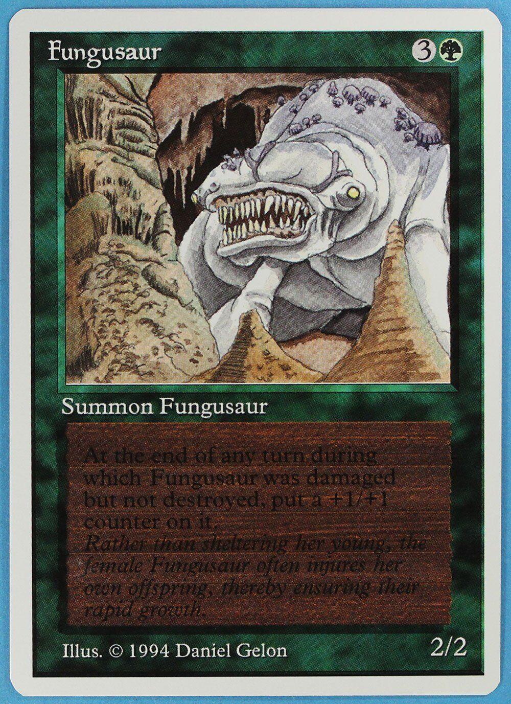 Fungusaur Summer Magic Edgar NM-M Green Rare MTG CARD (ID) ABUGames