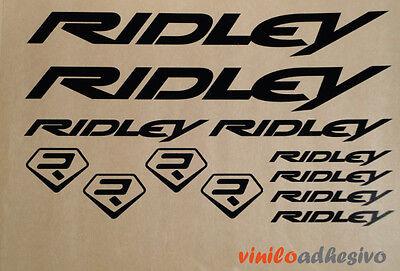 Pegatina Vinilo Sticker Ridley Bicicleta Bike Btt Autocollant Aufkleber