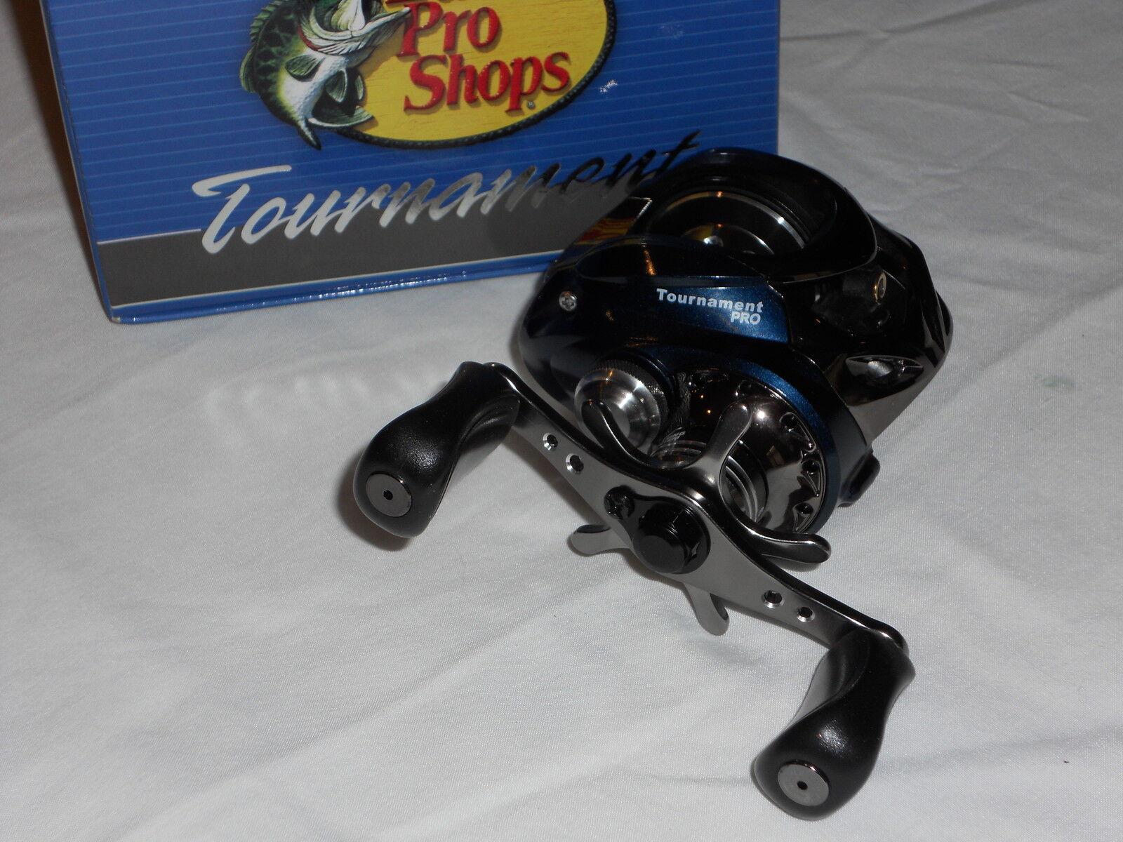 Fishing Reels-NEW BASS PRO TOURNAMENT TPX10HC PRO 10bb BAITCAST  REEL