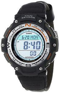 Casio-NEU-SGW-100B-3V-Twin-Sensor-Uhr-Thermometer-Kompass-SGW-100-gruen