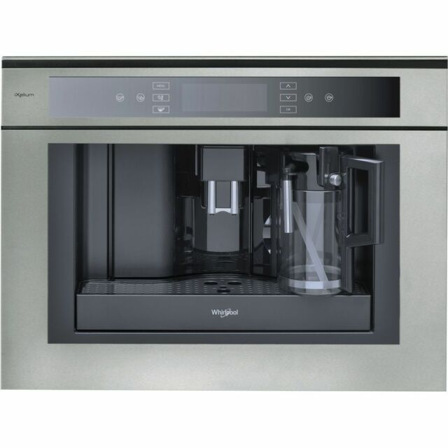 Whirlpool Ace102ixl Built In Stainless Steel 1350w Bean To Cup Coffee Machine