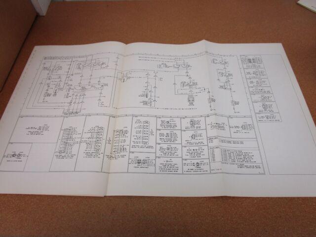 ORIGINAL 1975 Mercury Cougar wiring diagram SHEET ...