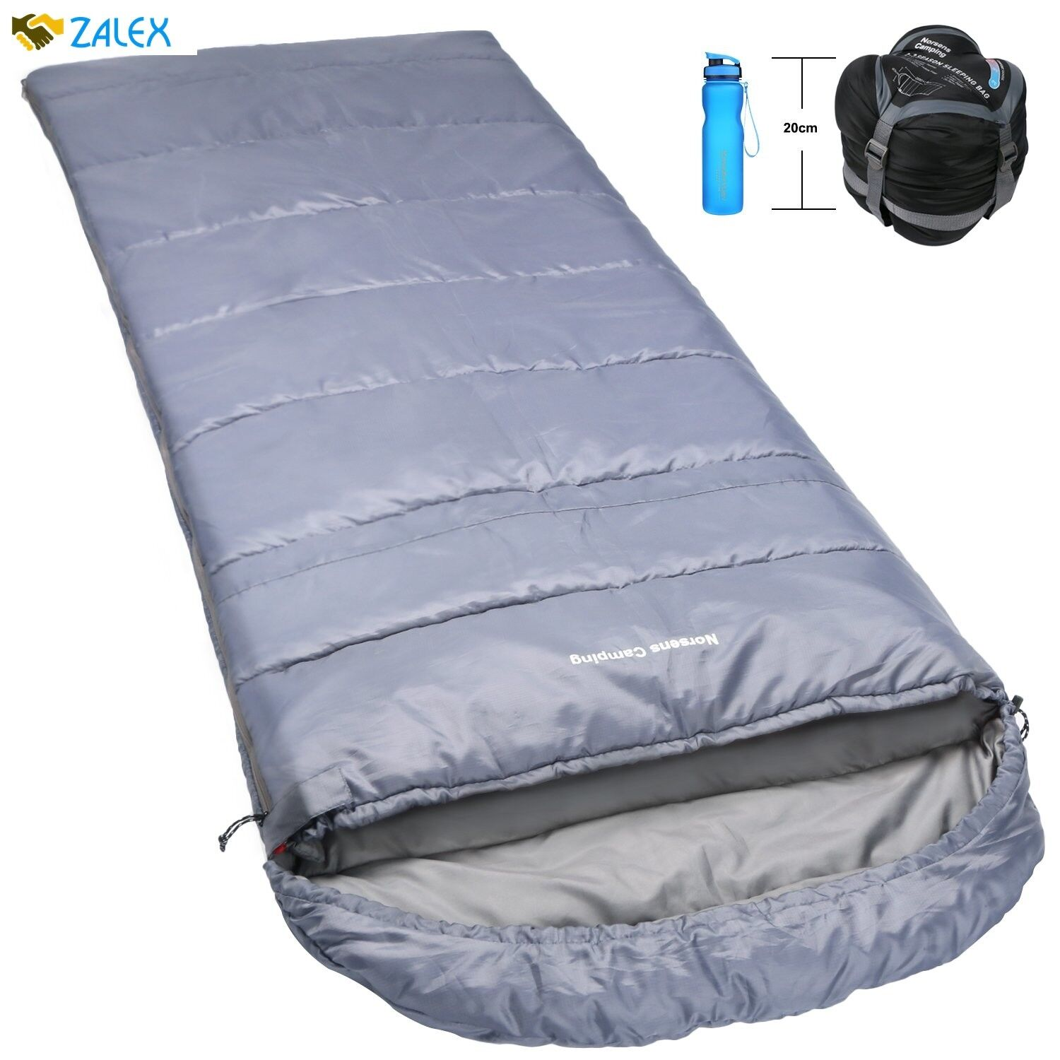 Emergency Sleeping Bag Lightweight Ultralight Compact Cold Weather Extra Long