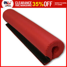 Barbell Pad Supports Squat Bar Weight Lifting Pull Up Neck Shoulder Protect Red