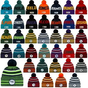 New-Era-NFL-Sideline-Beanie-19-20-Winter-Muetze-Cap-Seattle-Seahawks-Patriots-UVM