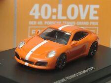 "Spark Porsche 911 Carrera S TENNIS Grand Prix, ""40:Love"", dealer model - 1/87"