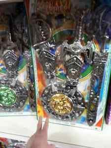 Set spada fodero arco gladiatore Kit gioco di qualità giocattolo toy a35
