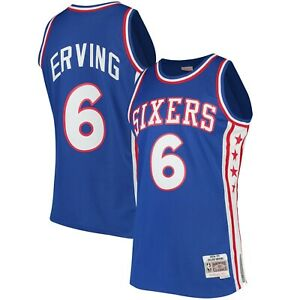 2015c30e8cff Image is loading Julius-Erving-Philadelphia-76ers-Mitchell-amp-Ness-1976-