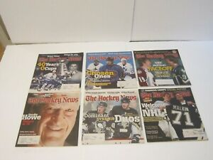 2006-Lot-of-39-The-Hockey-News-NHL-Issues-Alex-Ovechkin-Malkin-Gordie-Howe