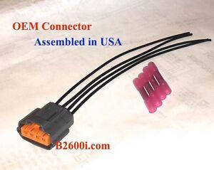 new oem mazda 323 distributor connector plug pigtail harness 4 wire rh ebay com 1988 Mazda 323 1988 Mazda 323