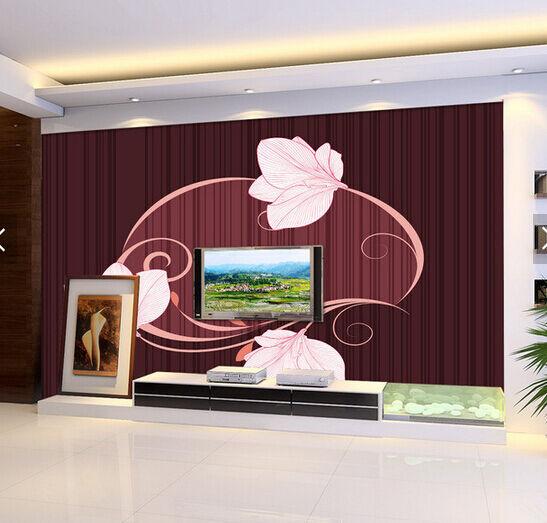 3D 3D 3D Petal Wreath Cartoon Paper Wall Print Wall Decal Wall Deco Indoor Murals 32ca6c