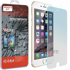 Pellicola Vetro Temperato Per iPhone 6 6S 4.7 Proteggi Salva Schermo Display