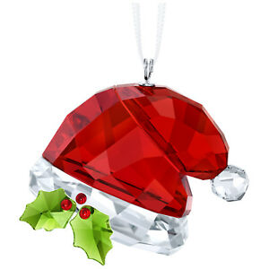 Swarovski-Crystal-Creation-5395978-Santa-039-s-Hat-Ornament-RRP-89