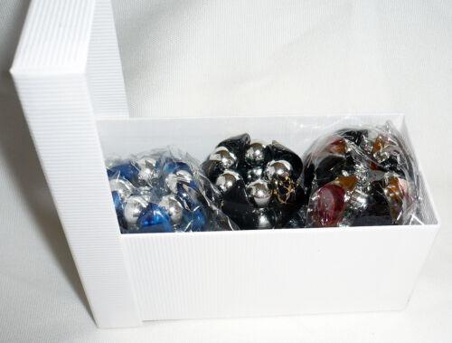 elastische Tuchhalter // Schalhalter in Geschenk Box Muttertag 6 St NEU+TOP #2