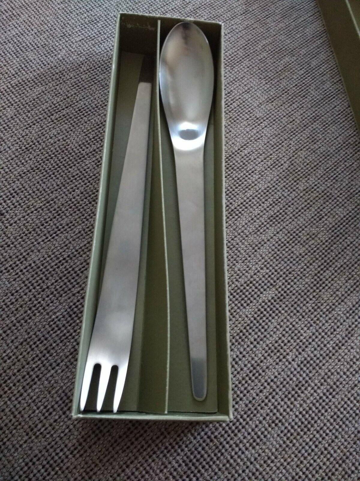 Arne Michelsen Mat en Acier Inoxydable Salade Server Set 11