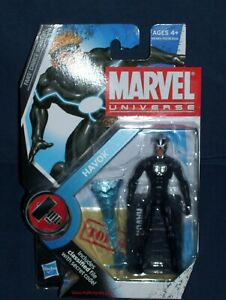 Marvel Universe Havok Variant Fans Choice Choix 3 3/4 Action Figure # 12 Série 2 Plume