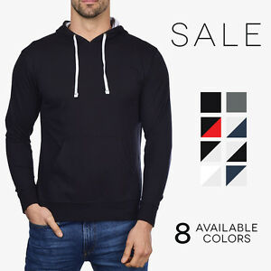 Next Level Lightweight Pullover Hoodie Soft French Terry Basic ...