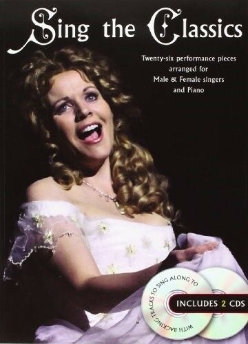 New, Sing The Classics Voice Book And 2 Cds (Book & Cds), Various, Book