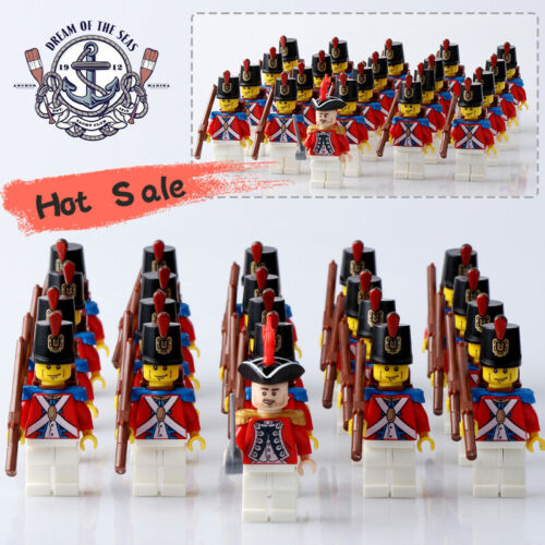 Gunners /& Commander mini figure W Imperial Royal Army soldiers Set 21 Pcs