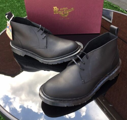 10 Leather 45 In England field East Eu Made Boots Dr Chukka Uk Martens Black q8Xx6wwp