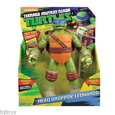 Teenage Mutant Ninja Turtles - 25cm Head Dropping Leonardo (BNIB) - 91821