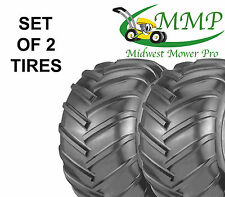 SET OF 2 New 22X11-10 4Ply Chevron Bar Tread Tires K472 Grasshopper