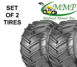 Set Of 2 New 22x11 10 4ply Chevron Bar Tread Tires K472