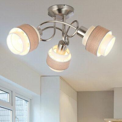 3x LED Decken Einbau Strahler beweglich Wohn Zimmer Spot Lampen weiß rund B-Ware