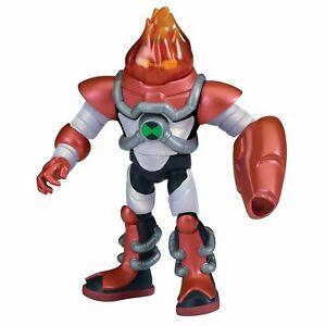 Ben 10 OMNI-KIX Armor HEATBLAST Action Figure Toy 12.5 cm Original, New BEN10
