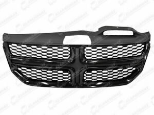 Front-Grill-Grille-Mesh-Gloss-Black-1VU67TZZAA-For-FIAT-FREEMONT-2011
