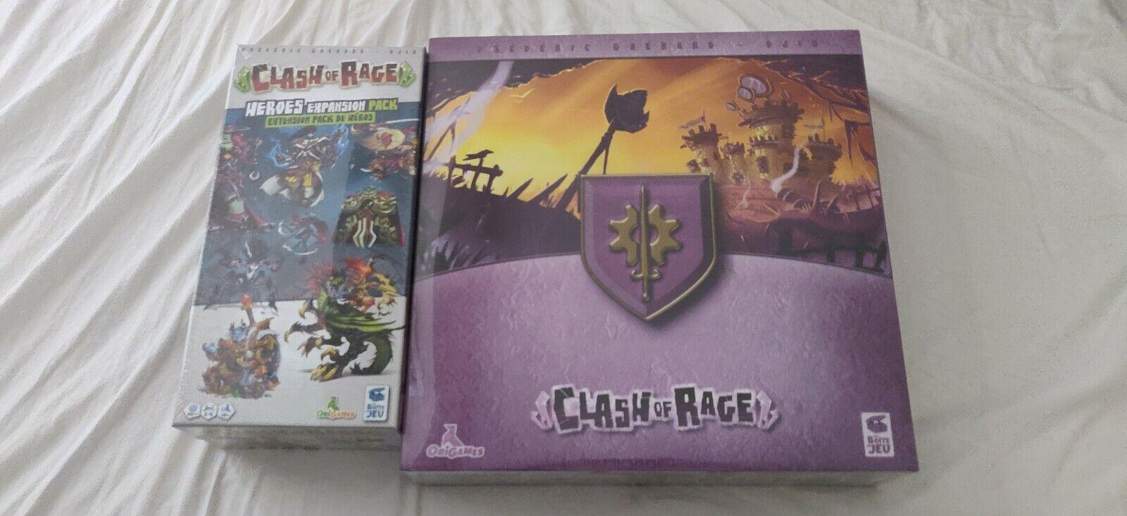 Clash of Rage Juego De Mesa + héroes exclusivo paquete de expansión-KickEstrellater