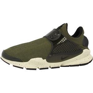Nike-sock-Dart-Chaussures-sneaker-819686-300-Cargo-Kaki-premium-97-Classic-Huarache