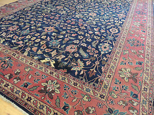 Image Is Loading 10x14 10x13 Antique Turkish Sparta Wool Oriental Area