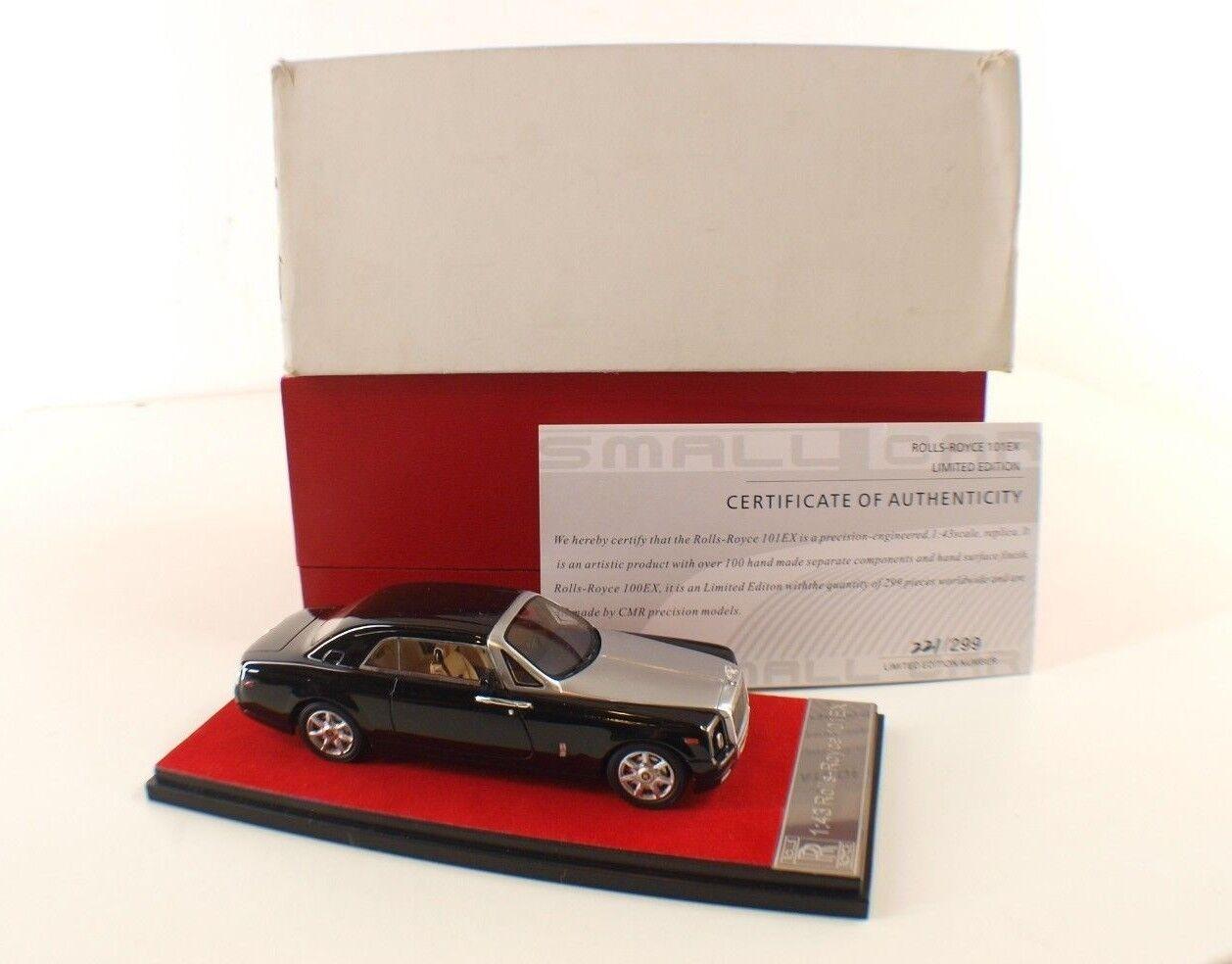 SMALL CAR CMR ROLLS ROYCE 101EX neuf en boite 1 43 MIB RARE 299 pieces