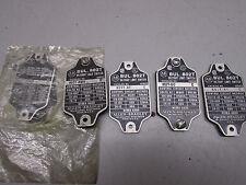 Allen Bradley 802T Limit Switch Cover Plates Lot of 5! Various P/N