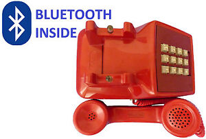 Pair-any-iPhone-Android-BLUETOOTH-WESTERN-ELECTRIC-PHONE-Makes-amp-receives-calls