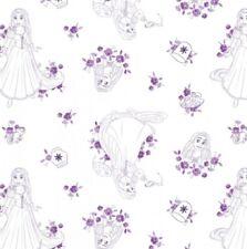 Camelot Disney Princess 85100112 2 Blue Toile BTY Cotton