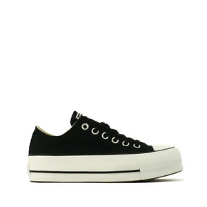 Converse-Chuck-Taylor-All-Star-Lift-Ox-Sneaker-Donna-560250C-Black-White