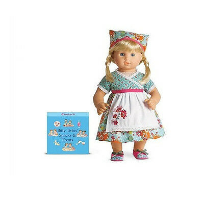 """American Girl BT BITTY TWIN BAKING OUTFIT for 15"""" Baby Dolls Chef Cooking NEW"""